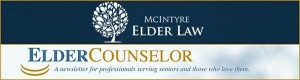 Elder Law Newsletter - Header